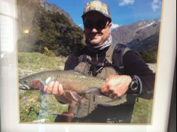 Wily trout