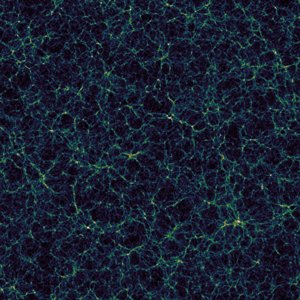 Large Scale Universe Structure Simulation