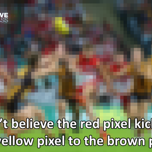 Glorious high pixel definition