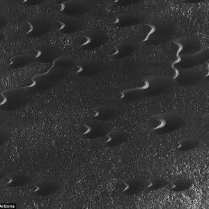 Mars Sand Dunes