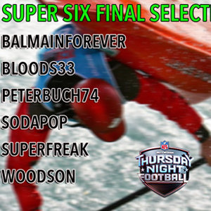 DZE SuperSix Final TNF