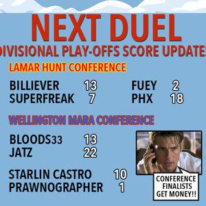 Next Duel Score update