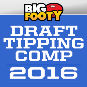 Draft Tipping Comp 2016