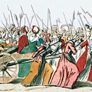 Women raid Versailles
