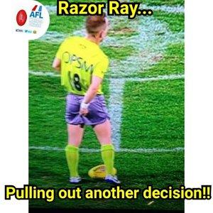 Razor ray