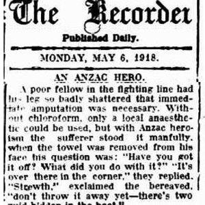 An Anzac Hero