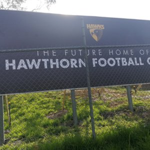 The future home of the hawthorn football club