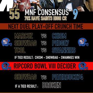MNF Week 15