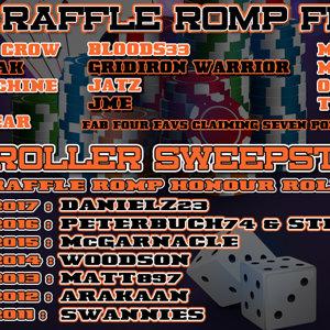 Raffle Romp 2018 Finalists