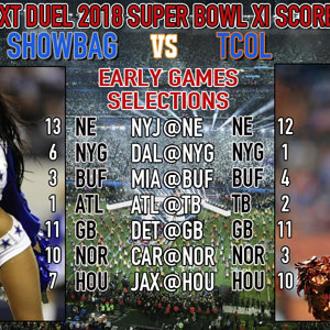 ND SB XI Early games